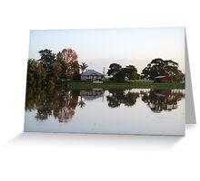Dumaresq Island reflections Greeting Card