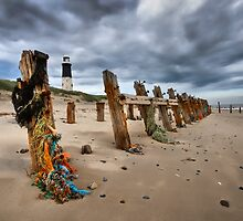 Spurn Lighthouse by sandgrouse