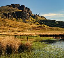 Old Man of Storr , Isle of Skye by Thomas Peter