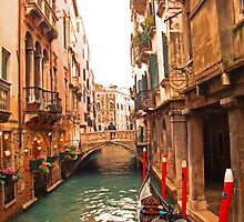Canals Of Venice by Al Bourassa
