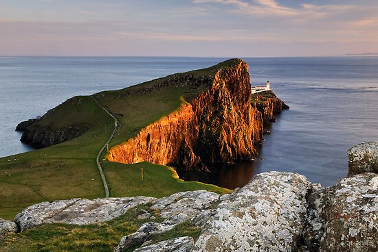 Neist Point Sunset, Isle of Skye by Thomas Peter