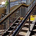 Old subway station, New York, NY by Zal Lazkowicz