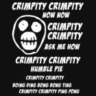 Mighty Boosh - Crimpity Crimpity by DementedFerret