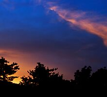 backyard sunset 10 by Eric Maki