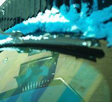 Blizzard Abstract by Trey Morgan