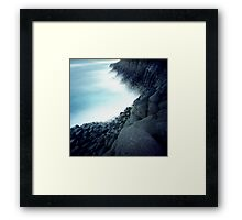 Fingal Cliffs Framed Print
