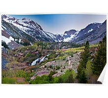 Dusk at Lundy Canyon Poster