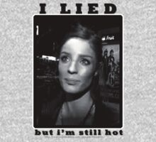 I Lied, but i'm still hot by ILikeShirts
