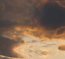 Anger In The Clouds by Linda Miller Gesualdo