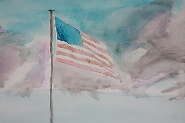 Storm over Patriotism by Cody Higdem