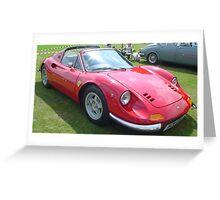 Classic Ferrari Greeting Card