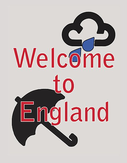 Welcome to England! by incurablehippie