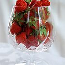 Fresh Strawberries by Catherine Sherman