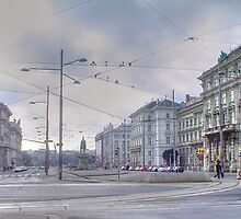Schwarzenberg Platz - Streets of Vienna by daynov