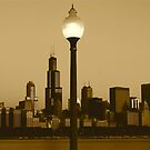 CHICAGO SUNRISE by Scott  d&#x27;Almeida
