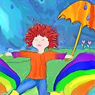 Splash - Chase the Rainbow by F. Magdalene Austin