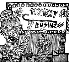 Monkey Business by cardiocentric
