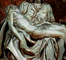 Michelangelo's Pieta by Renee Hubbard Fine Art Photography