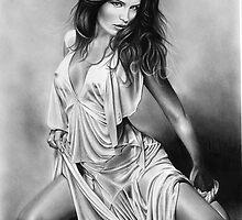 Kate Beckinsale by John Harding