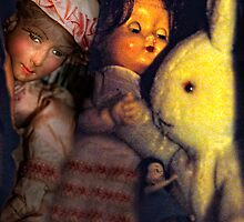 Bunny And Dolls by ltruskett