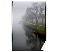 Yarra river in fog Poster