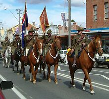 Australian Light Horse Regiment renenactment by Philip Mitchell Graham