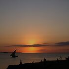 Stone Town Sunset, Zanzibar by stephenmark photography