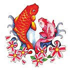 Mother/ Daughter Koi - Tattoo by Brittnie Ayres