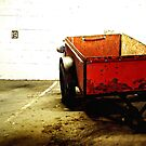 Red Cart by RobertCharles