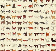 100 Dogs by Emilia  Buggins