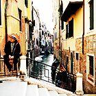 Venetian Gondoliers by lousutherland