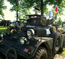 1956 Diamler Scout Military Vehicle by TeeMack