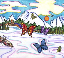 Butterflies In Winter by CiannaRose