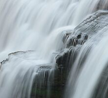 Letchworth Middle Falls Veils by Bob  Reeves