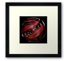'As the Bubble Turns 2' Framed Print