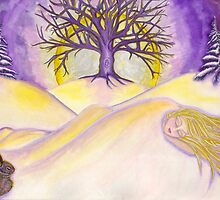 Gaia Sleeps by CiannaRose