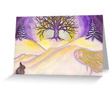 Gaia Sleeps Greeting Card