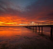 Sunrise at the Rippleside Pier by Luka Skracic