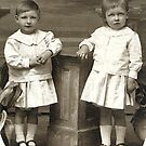 1918 my father and his sister by Woodie