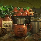 Scrumpy Jack , Still Life .     by Irene  Burdell