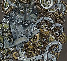 Fenrir (or Wolf Dragon No. 3) by Lynnette Shelley