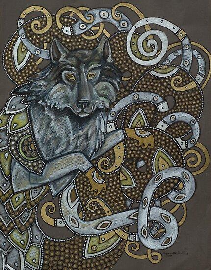 Fenrir (or Wolf Dragon No. 3) by Lynnette Shelley