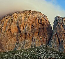 cliffs, San Vito Lo Capo , Sicily  by Christopher Barton