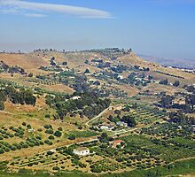 Agrigento farms, Sicily by Christopher Barton