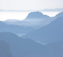 Howe Sound haze , British Columbia , Canada by Christopher Barton