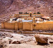 Saint Catherine's Monastery  by Valerii Baryspolets
