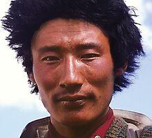 Pilgrim in Tibet by Vicktorya Stone