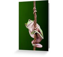 Pole Dancer Greeting Card