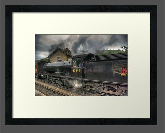 No: 63395 Steam Train by Trevor Kersley