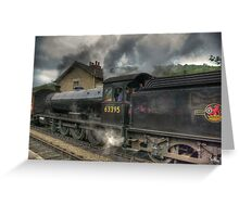 No: 63395 Steam Train Greeting Card
